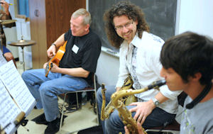 Jazz Band Masterclass with Jeff Antoniuk